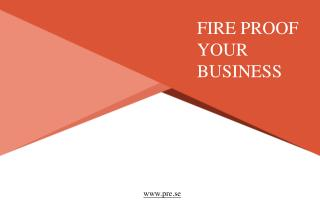 How to make your office fire-proof