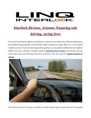 ignition interlock arizona