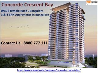 Concorde Crescent Bay Bangalore