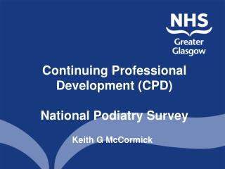 Continuing Professional Development CPD