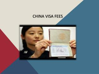 How to apply for a China Visa