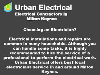Are You Choosing an Electrician?