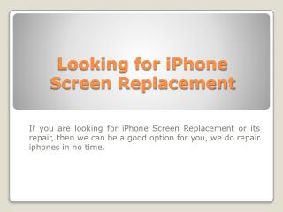 iPhone 5 LCD repair Toronto| Toronto iPhone5 Repair