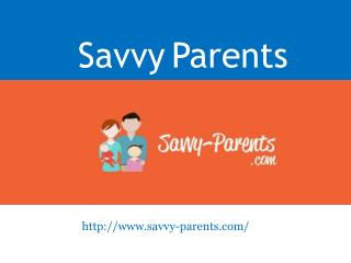 Savvy Parents - www.savvy-parents.com