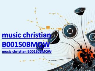 music christian B001S0BMQW
