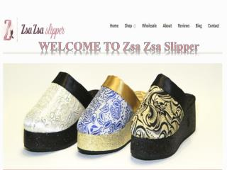 Zsazsaslippers offers the perfect bathrobes and Luxury slippers for women
