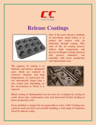 Release Coatings