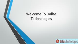 dallas technologies COurse