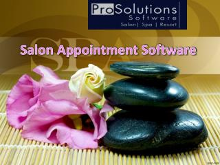 Salon Appointment Software