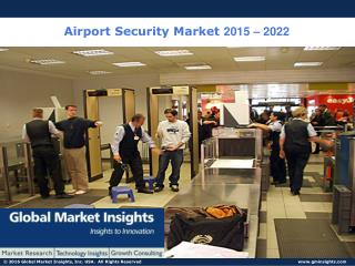 Airport Security Market Size | Global Industry Report, 2023