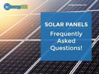 Frequently Asked Questions about Solar Energy in Houston