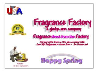 Manufacture of Fragrance Oil in the USA