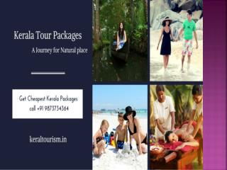 Enjoy beautiful trip to kerala