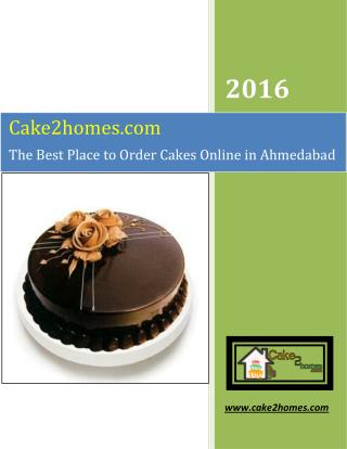 Cake2Homes - The Best Place to Order Cakes Online in Ahmedabad