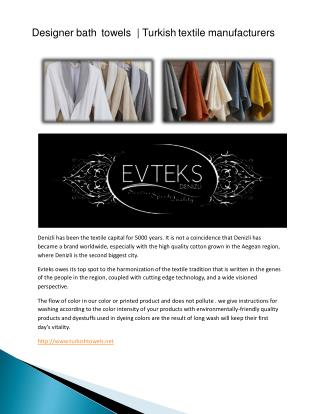 Bed linen manufacturers in turkey