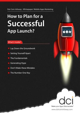 How to Plan for Successful App Launch