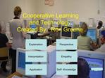 Cooperative Learning and Technology:  Created By:  Ron Greene