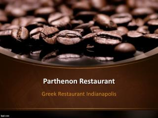 Enjoy the exquisite Middle Eastern food in Indianapolis