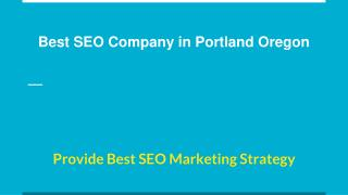 Best SEO Company in Portland Oregon