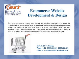 Ecommerce Website Design & Development | Beta Soft Technology