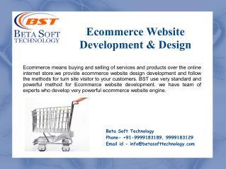 Website Designing & Development Services – Beta Soft Technology