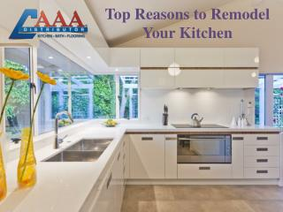 Top Reasons to Remodel Your Kitchen