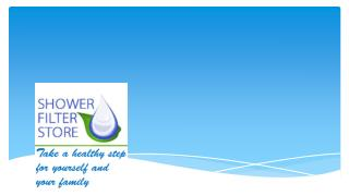 Shower Filter Store - Water Filtration Online Outlet Shop of Newmarket Naturals