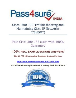 Pass4sure 300-135 Study Guide