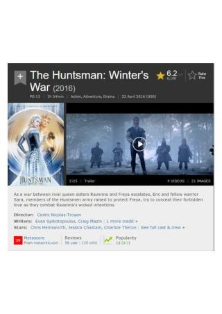 [[Mojo]] The Huntsman Winter s War O n l i n e