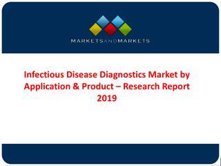Infectious Disease Diagnostic (IDD) Market Forecast 2019