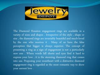 Platinum Engagement Rings in houston - Symbol OF Love and Purity
