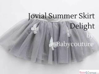 Jovial Summer Skirt Delight