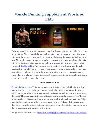 http://www.healthyapplechat.com/proshred-elite-reviews/