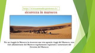 Sicurezza in marocco