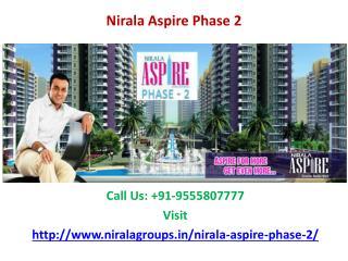 Nirala Aspire Phase 2 Luxurious Township at Noida Extension