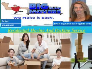 Packing And Moveing Service
