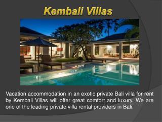 kem Bali Villas