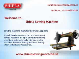 Kamal Traders- Sewing Machine Manufacturers & Suppliers