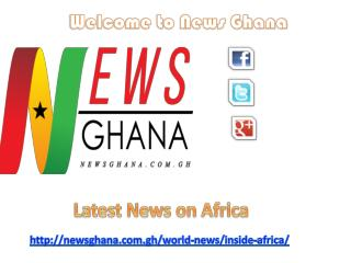 Latest News on Africa