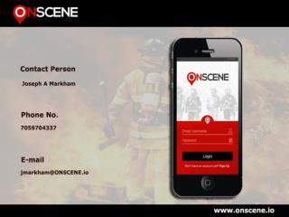 fire department paging app, volunteer firefighter application