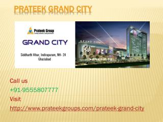 Prateek Grand City Beautiful Homes