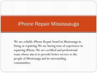 iPhone Repair in Mississauga| iPhone Screen Repair