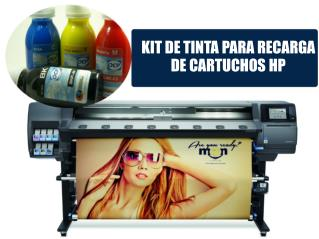 KIT DE TINTA PARA RECARGA DE CARTUCHOS HP