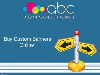 Custom Banners Online