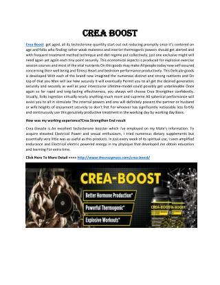 Crea Boost