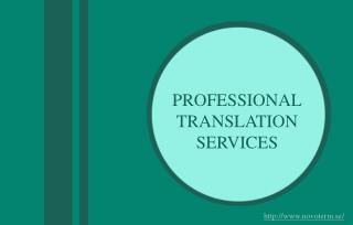 Reasons to Hire Professional Translation Services