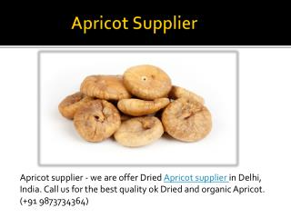 Apricot supplier in delhi