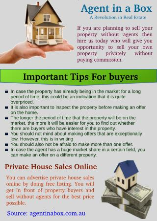 Private House Sales Online