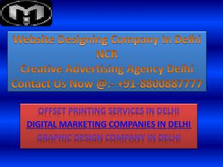 Creative Advertising Agency Delhi