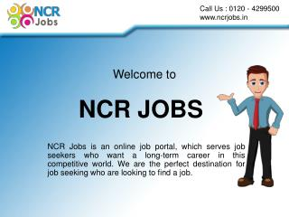 How to Registration NCR Jobs Portel